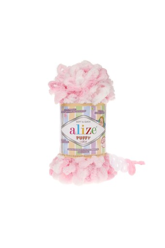 ALİZE - Alize Puffy Color El Örgü İpi 100 Gr (1)