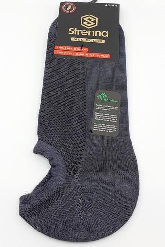 ARMAĞAN - Armağan Erkek Patik Çorap Bambu Düz Görünmez (12 adet)