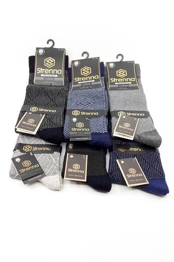 ARMAĞAN - Armağan Erkek Soket Çorap Pamuklu Desenli ARMAGAN130 (12 adet)