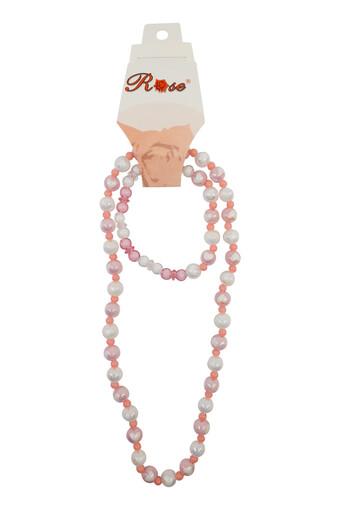 ARZU TOKA - Arzu Kız Çocuk Boncuk Renkli Set Kolye (12 adet)