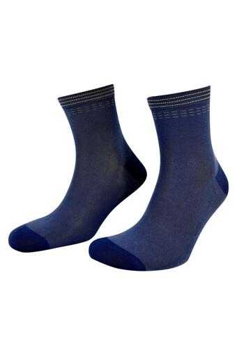 AYTUG - Aytuğ Erkek Çorap Yarım Konç Bambu Desen 5 (12 adet)