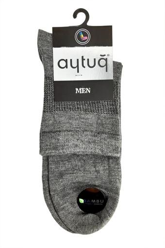 AYTUG - Aytuğ Erkek Çorap Yarım Konç Desen 2 (12 adet) (1)