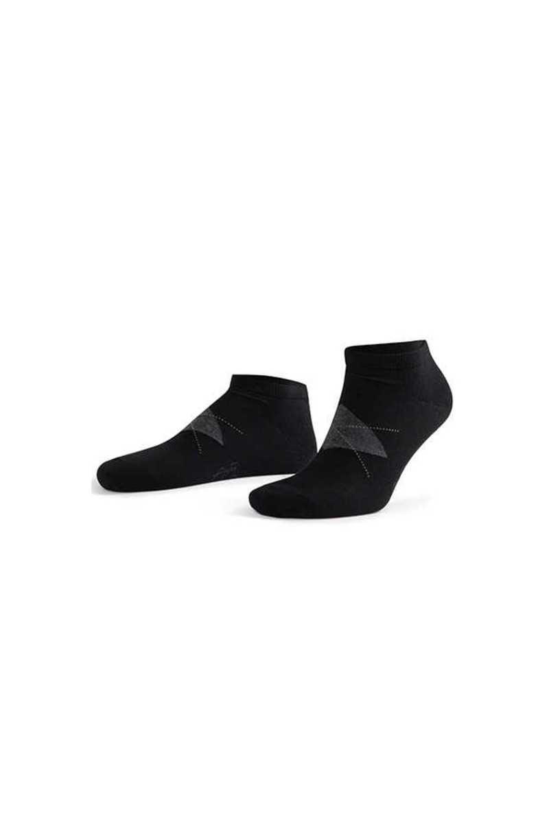 Aytuğ Erkek Patik Çorap Penye Business Dikişsiz Desen 12 (12 adet) - Thumbnail