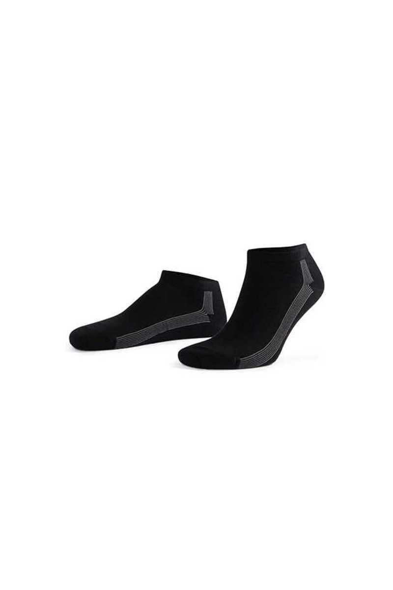 Aytuğ Erkek Patik Çorap Penye Business Dikişsiz Desen 8 (12 adet) - Thumbnail