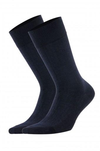 Aytuğ Erkek Soket Çorap Bambu Dikişsiz Desen 16 (12 adet)