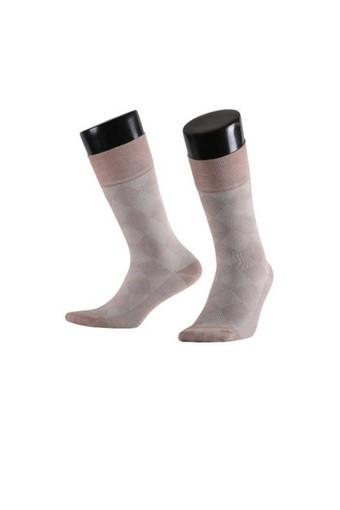 AYTUĞ - Aytuğ Erkek Soket Çorap Bambu Dikişsiz Desen 7 (12 adet) (1)