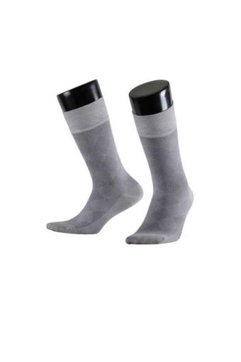Aytuğ Erkek Soket Çorap Bambu Dikişsiz Desen 7 (12 adet) - Thumbnail