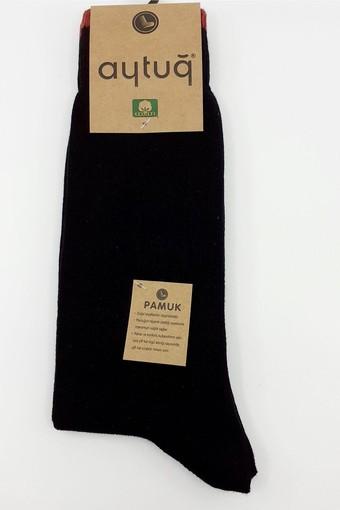 AYTUĞ - Aytuğ Erkek Soket Çorap Çift Kat Cotton Desen 7 (12 adet)
