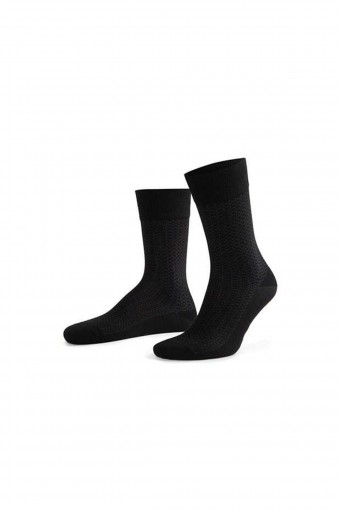 Aytuğ Erkek Soket Çorap Penye Platinium Dikişsiz Desen 1 (12 adet) - Thumbnail