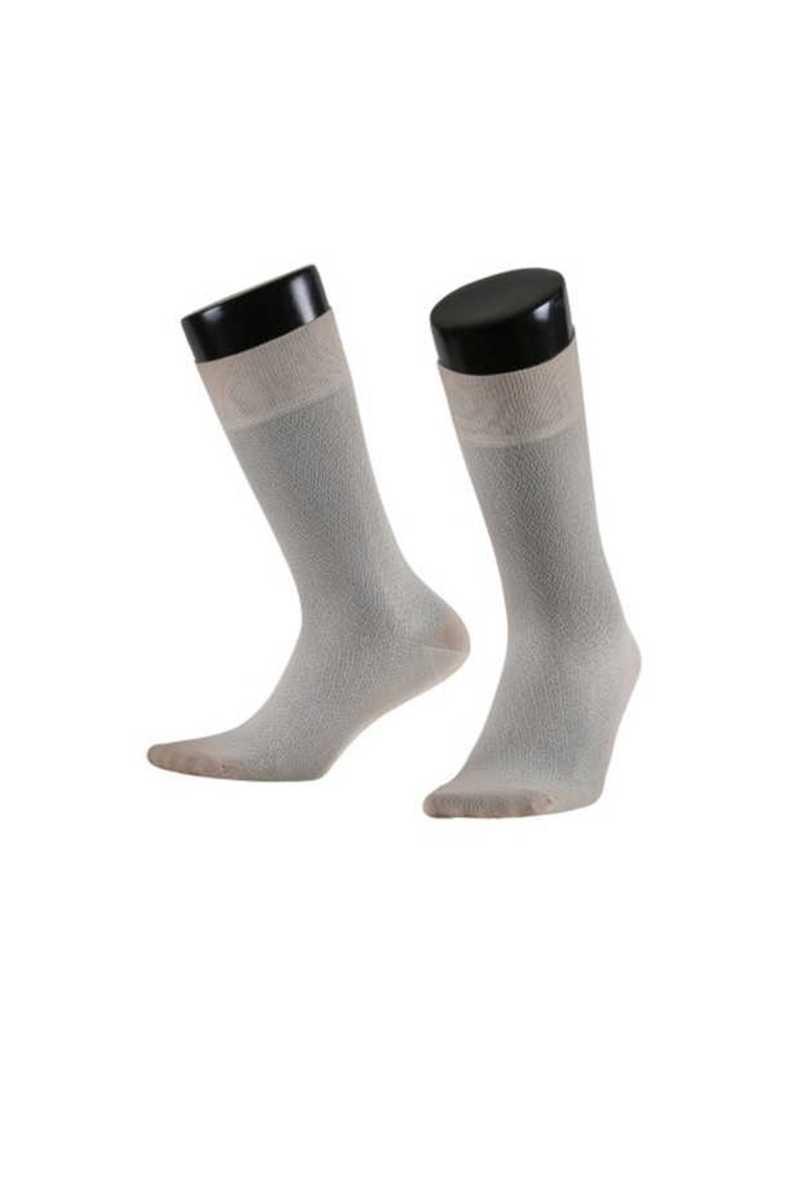 Aytuğ Erkek Soket Çorap Penye Platinium Dikişsiz Desen 2 (12 adet) - Thumbnail