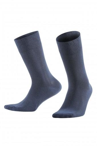 Aytuğ Erkek Soket Çorap Penye Platinium Dikişsiz Düz (12 adet)