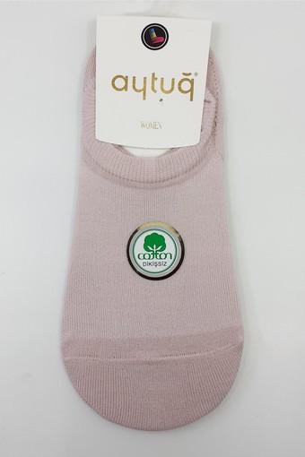 AYTUĞ - Aytuğ Kadın Babet Çorap Suba Penye Dikişsiz Desen 12 (12 adet) (1)