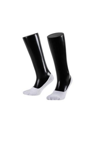 Aytuğ Kadın Babet Çorap Suba Penye Dikişsiz Silikon Destekli Düz (12 adet) - Thumbnail