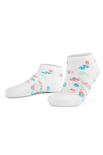 AYTUG - Aytuğ Kadın Patik Çorap Bambu Dikişsiz Desen 15 (12 adet)