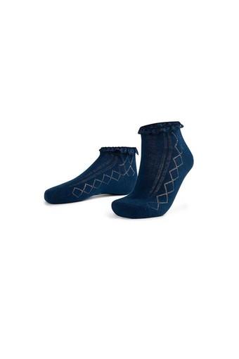 Aytuğ Kadın Patik Çorap Dantelli Penye (12 adet) - Thumbnail