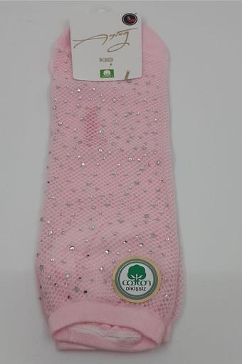 AYTUĞ - Aytuğ Kadın Patik Çorap Taş Baskılı (12 adet) (1)