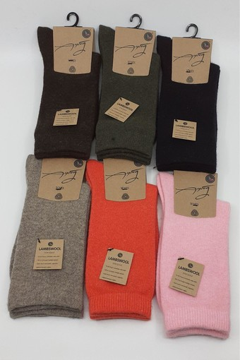 Aytuğ Kadın Soket Çorap Lambswool Düz (12 adet) - Thumbnail