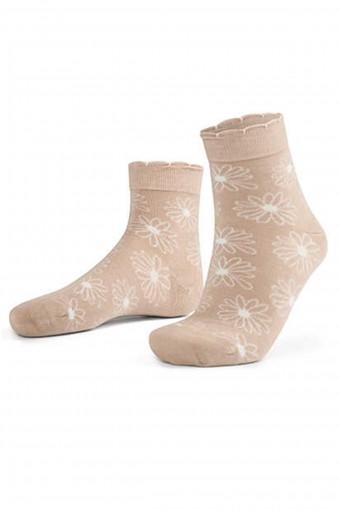 AYTUĞ - Aytuğ Kadın Yarım Konç Çorap Bambu Dikişsiz Desen 14 (12 adet)