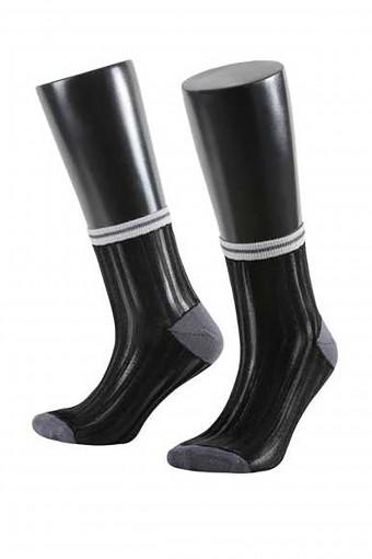 AYTUG - Aytuğ Kadın Yarım Konç Çorap Floş Misine (12 adet)