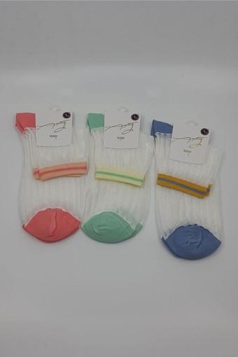 AYTUĞ - Aytuğ Kadın Yarım Konç Çorap Floş Misine (12 adet) (1)