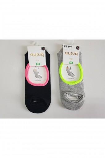 Aytuğ Kadın Yoga-Pilates Çorabı Suba Penye (12 adet)