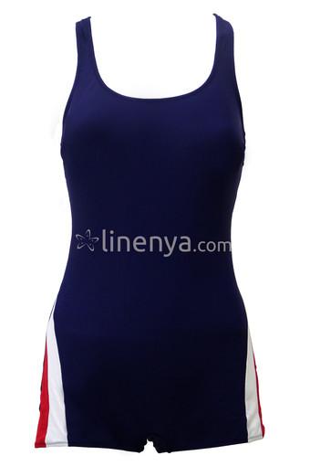 BADELİNA - Badelina Kadın Yüzücü Mayo Şortlu (1)