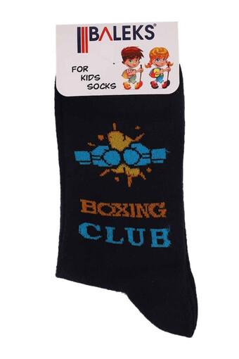 BALEKS - Baleks Erkek Çocuk Patik Çorap Yarış Arabalı (12 adet) (1)