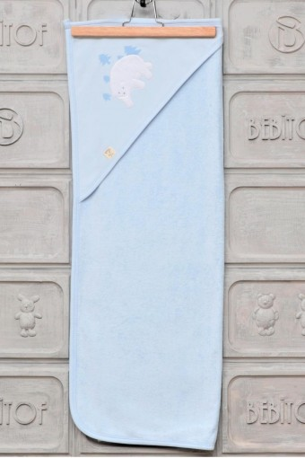 BEBİTOF - Bebitof Vivala Unisex Bebek Havlusu Kutup Ayılı