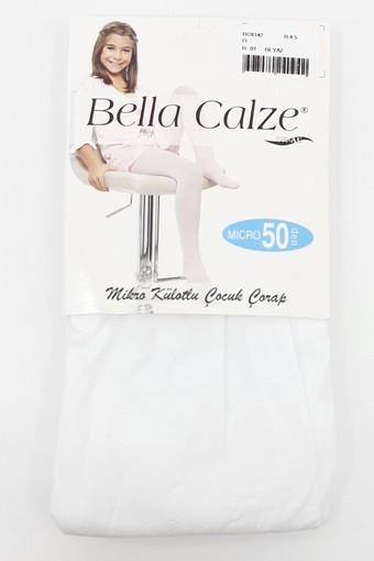 ORAL ÇORAP - Bella Calze Kız Çocuk İnce Külotlu Çorap Mikro 50 (12 adet)