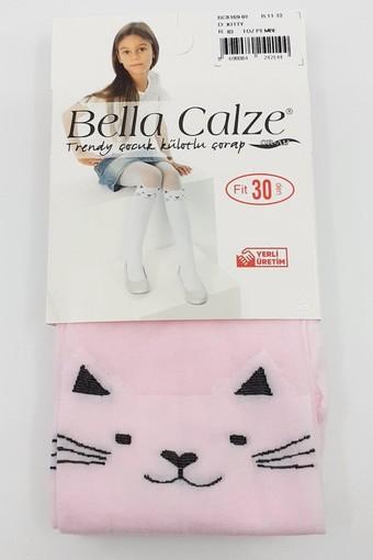 BELLA CALZE - Bella Calze Kız Çocuk İnce Külotlu Çorap Trendy (6 adet) (1)