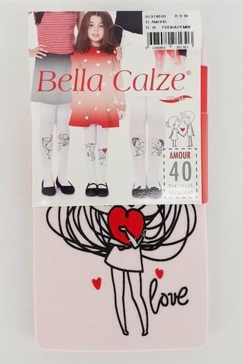 BELLA CALZE - Bella Calze Kız Çocuk Külotlu Çorap Soft Amor Opak (12 adet) (1)