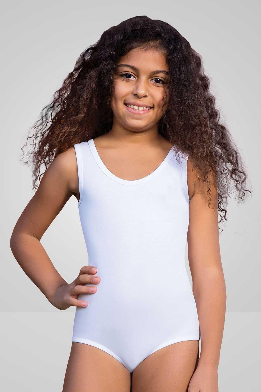 Berrak Kız Çocuk Çıtçıtlı Body Kalın Askılı - Thumbnail