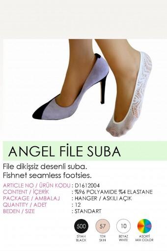 DAYMOD - Daymod Kadın Babet Çorap Angel File Suba (12 adet) (1)