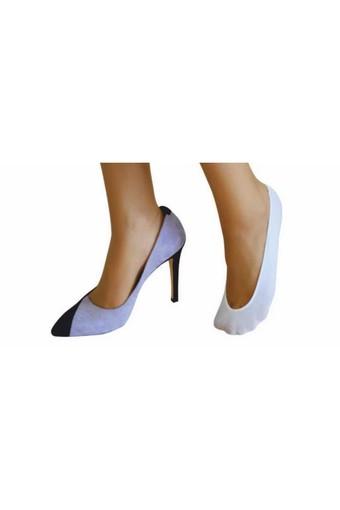 DAYMOD ÇORAP - Daymod Kadın Babet Çorap Pamuklu (12 adet)