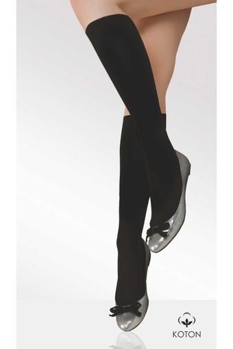 DAYMOD ÇORAP - Daymod Kadın İnce Dizaltı Çorap Pamuklu (12 adet)