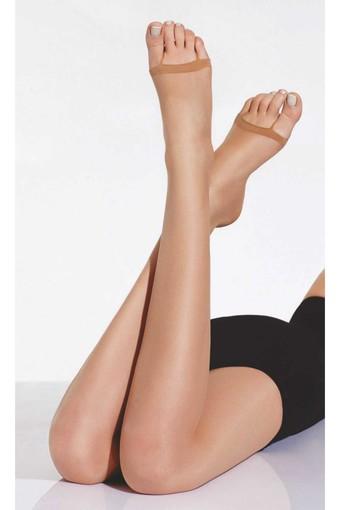 DAYMOD ÇORAP - Daymod Kadın İnce Dizaltı Çorap Parmaksız 7 (12 adet)