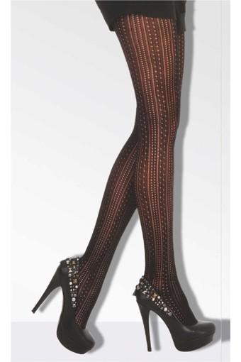 DAYMOD ÇORAP - Daymod Kadın İnce Külotlu Çorap Marry File Desenli (6 adet)