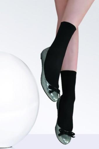 DAYMOD ÇORAP - Daymod Kadın İnce Soket Çorap Mikro 80 (12 adet)