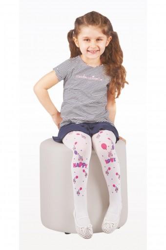 DAYMOD ÇORAP - Daymod Kız Çocuk İnce Külotlu Çorap Baykuş (6 adet) (1)
