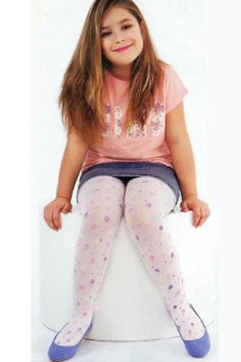 DAYMOD ÇORAP - Daymod Kız Çocuk İnce Külotlu Çorap Dondurmam (6 adet)