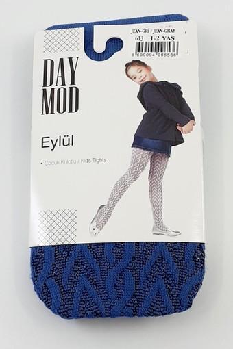 DAYMOD ÇORAP - Daymod Kız Çocuk İnce Külotlu Çorap Eylül File Desenli (6 adet) (1)