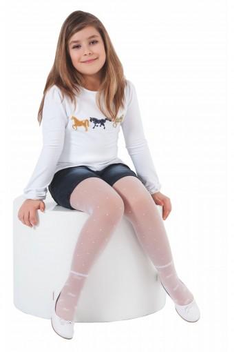 DAYMOD ÇORAP - Daymod Kız Çocuk İnce Külotlu Çorap Gözde (6 adet) (1)