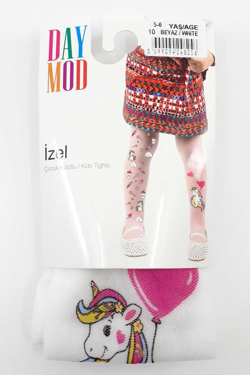 Daymod Kız Çocuk İnce Külotlu Çorap İzel Desenli Tül DM2125142 (6 adet) - Thumbnail
