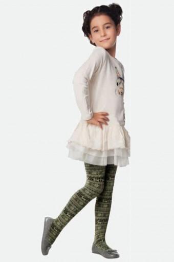 DAYMOD - Daymod Kız Çocuk İnce Külotlu Çorap Kar Tanesi (6 adet)