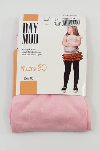 DAYMOD ÇORAP - Daymod Kız Çocuk İnce Külotlu Çorap Mikro 80 (6 adet) (1)