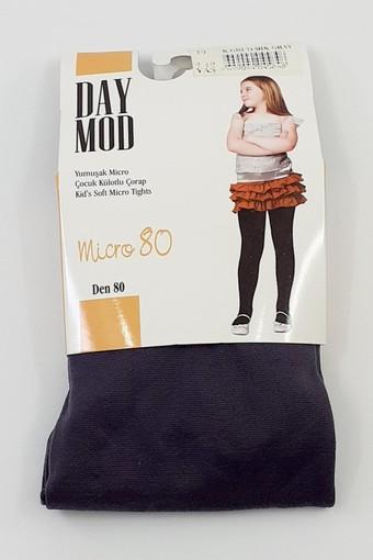 DAYMOD ÇORAP - Daymod Kız Çocuk İnce Külotlu Çorap Mikro 80 (6 adet)