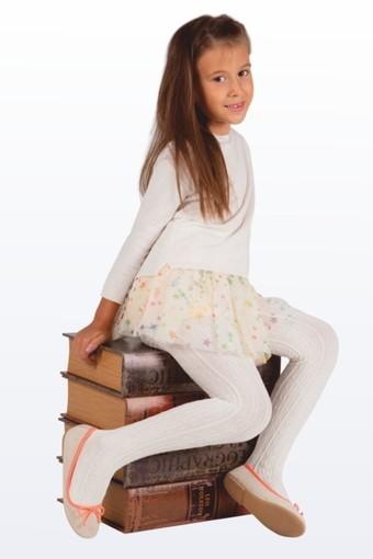 DAYMOD ÇORAP - Daymod Kız Çocuk İnce Külotlu Çorap Peri File Desenli (6 adet)