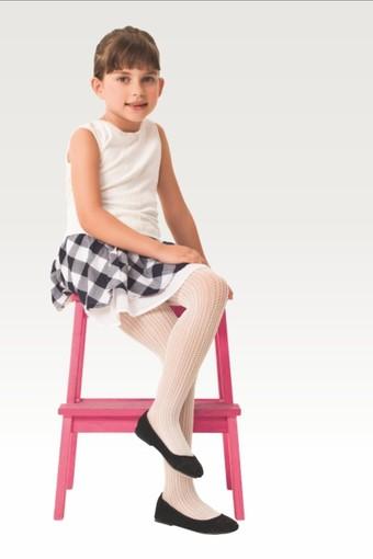 DAYMOD ÇORAP - Daymod Kız Çocuk İnce Külotlu Çorap Peri File Desenli (6 adet) (1)
