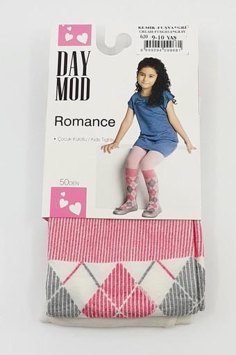 DAYMOD ÇORAP - Daymod Kız Çocuk İnce Külotlu Çorap Romance (6 adet)