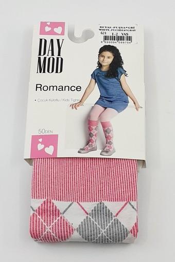 DAYMOD ÇORAP - Daymod Kız Çocuk İnce Külotlu Çorap Romance (6 adet) (1)